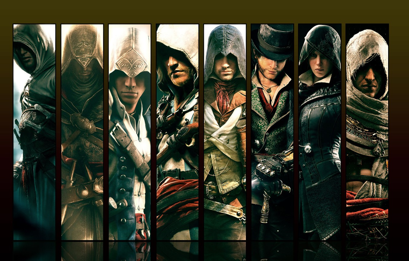 Wallpaper Heroes Assassin S Creed Assassins Images For Desktop Section Igry Download
