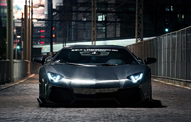 Photo wallpaper Lamborghini, Avendator, Liberty Walk
