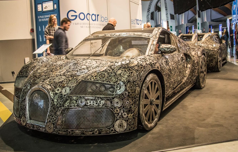 Photo wallpaper Bugatti Veyron, the dealership, Bugatti Veyron Replica
