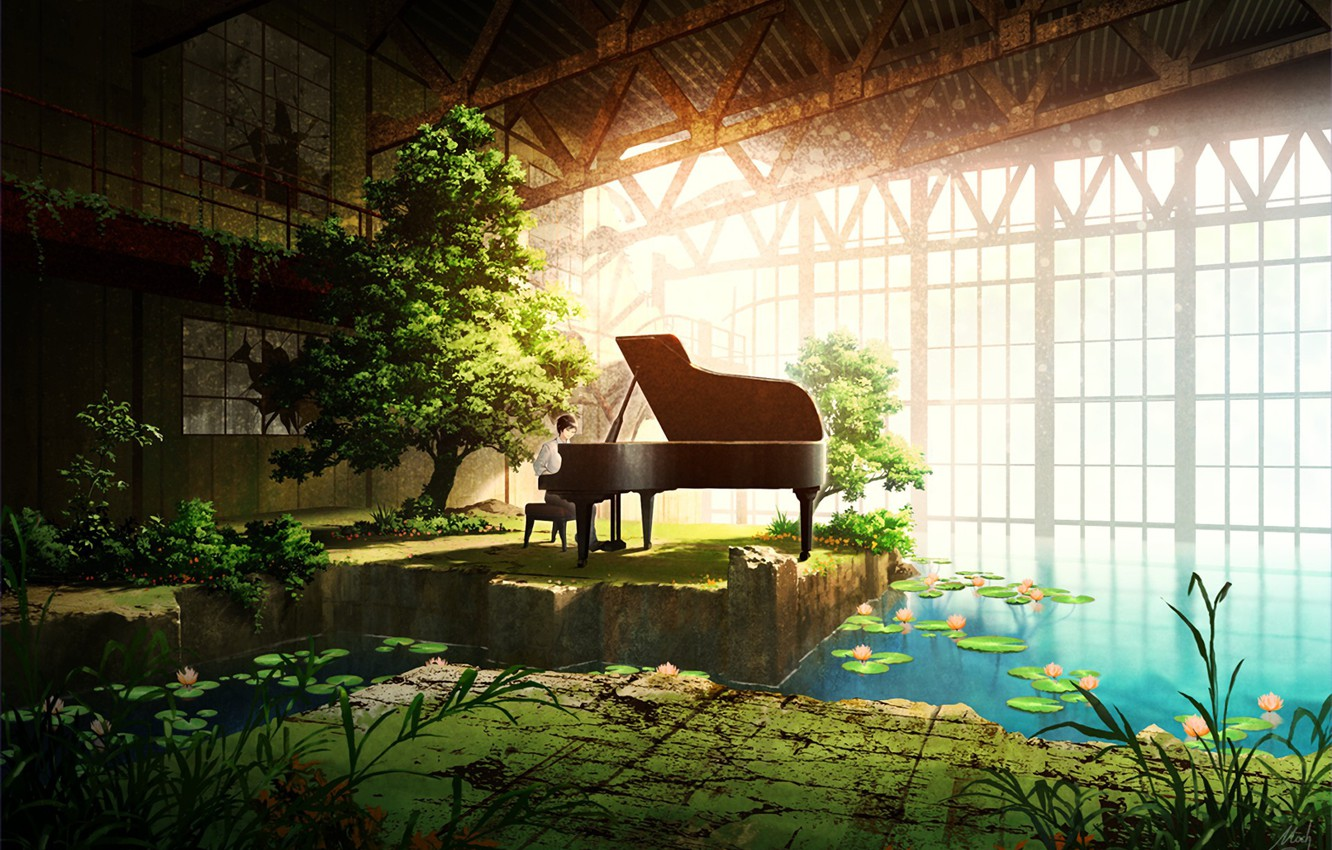 Wallpaper Music Anime Plan Beauty Japanese Images For Desktop Section Art Download