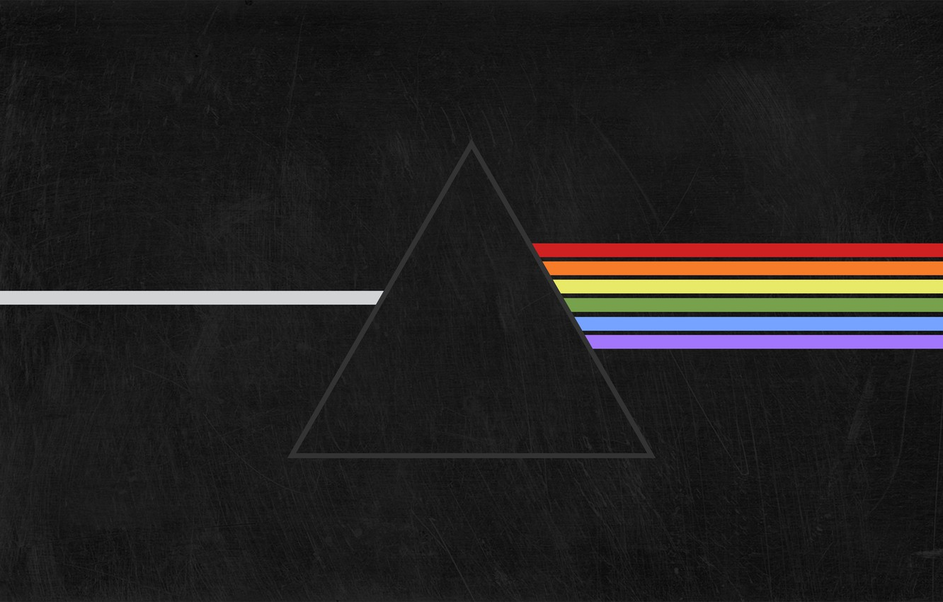 Wallpaper Music Triangle Pink Floyd Rock Dark Side Of The Moon