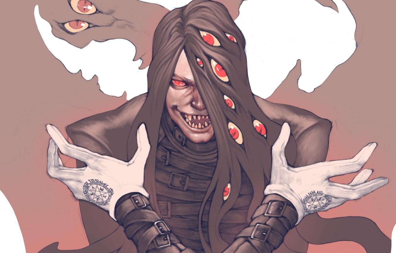 Photo wallpaper vampire, anime, hellsing, art, alucard, dracula