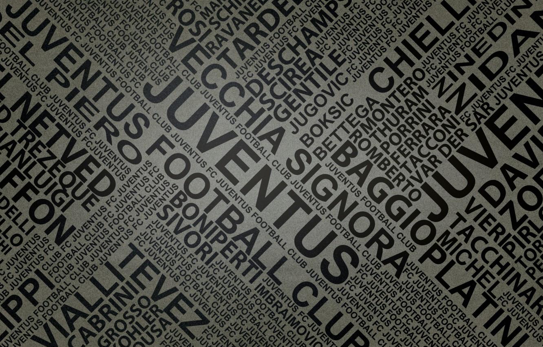 Photo wallpaper letters, newspaper, footbal, names, juventus by fernan