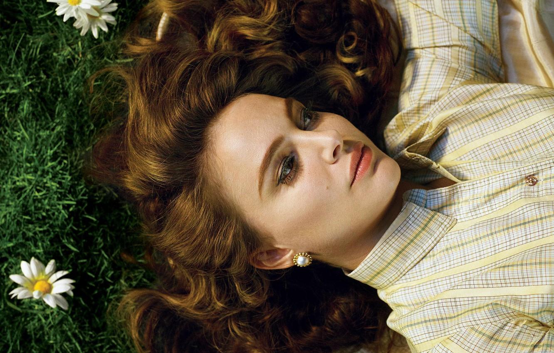 Wallpaper Flowers Makeup Actress Hairstyle Lies Natalie Portman