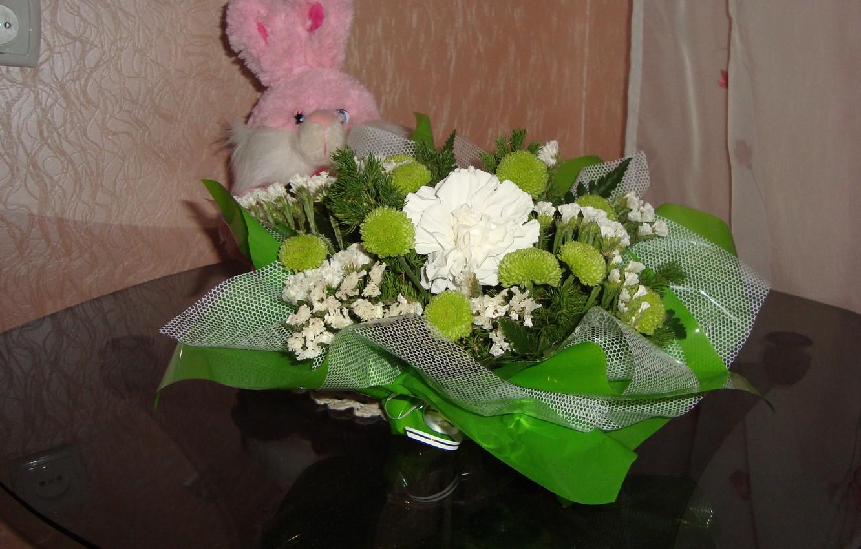 Photo wallpaper flowers, mood, surprise