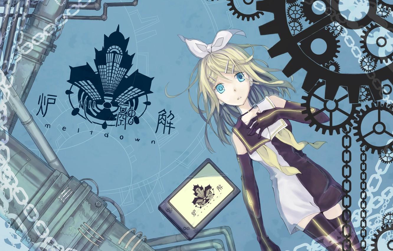 Photo wallpaper house, anime, art, girl, Vocaloid, Vocaloid