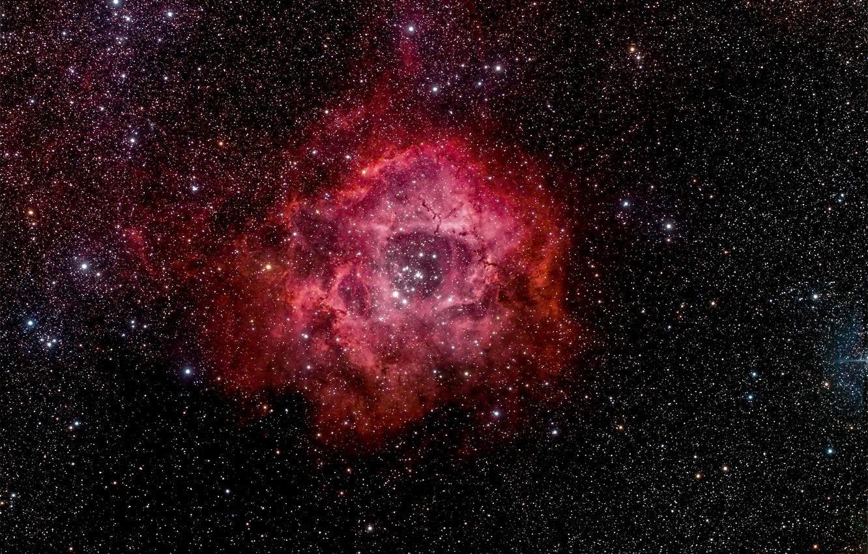 Photo wallpaper space, stars, space, beauty, Rosette Nebula