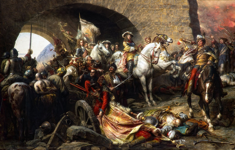 Wallpaper Arch Warriors Gyula Benczur Buda Repossession The