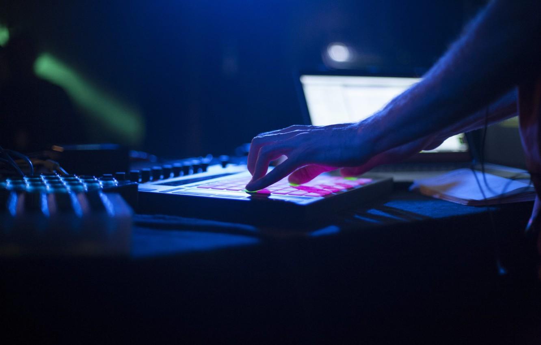 Photo wallpaper Musician, Notebook, MPD