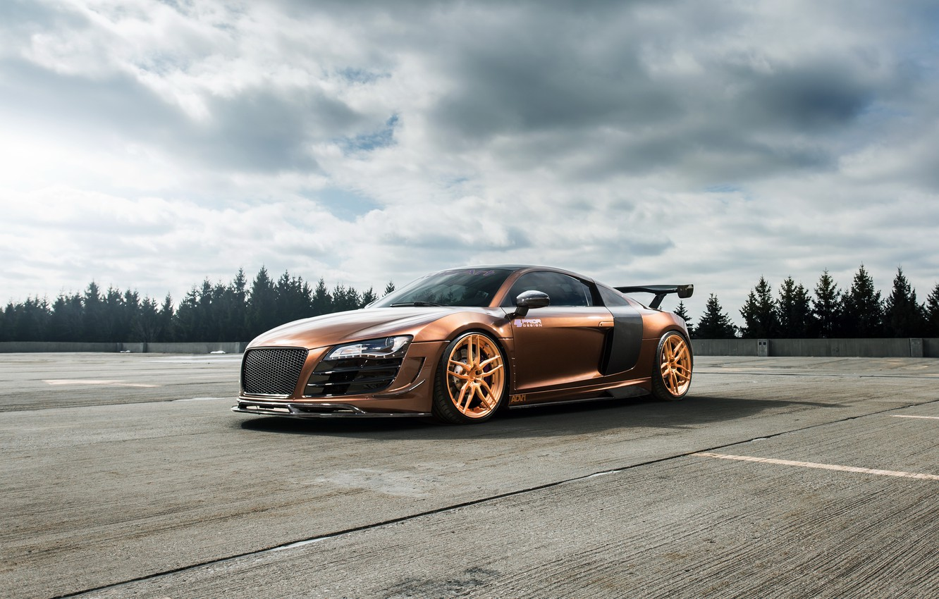 Photo wallpaper Audi, Prior Design, ADV1, R8