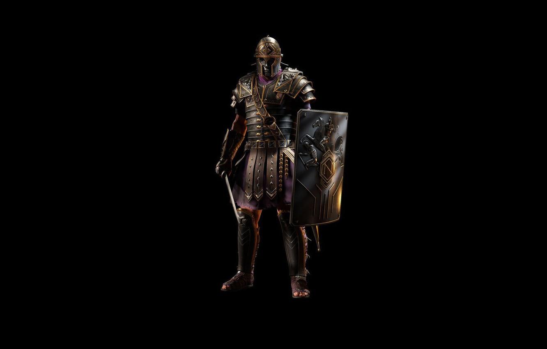 Wallpaper Sword Armor Helmet Shield Legionnaire Roman