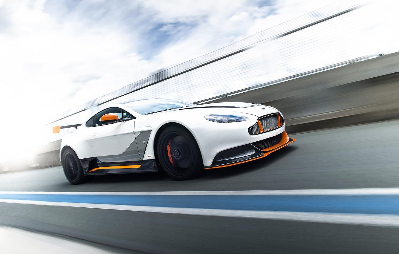 Photo wallpaper Aston Martin, speed, GT-12