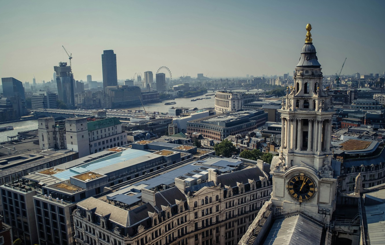 Photo wallpaper city, the city, street, view, England, London, panorama, architecture, london, photography, UK, photo, street, england, …