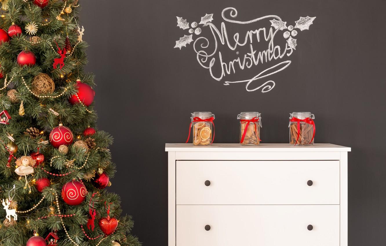 Photo wallpaper decoration, toys, tree, New Year, Christmas, Christmas, design, Merry Christmas, Xmas, interior, home, decoration, Christmas …