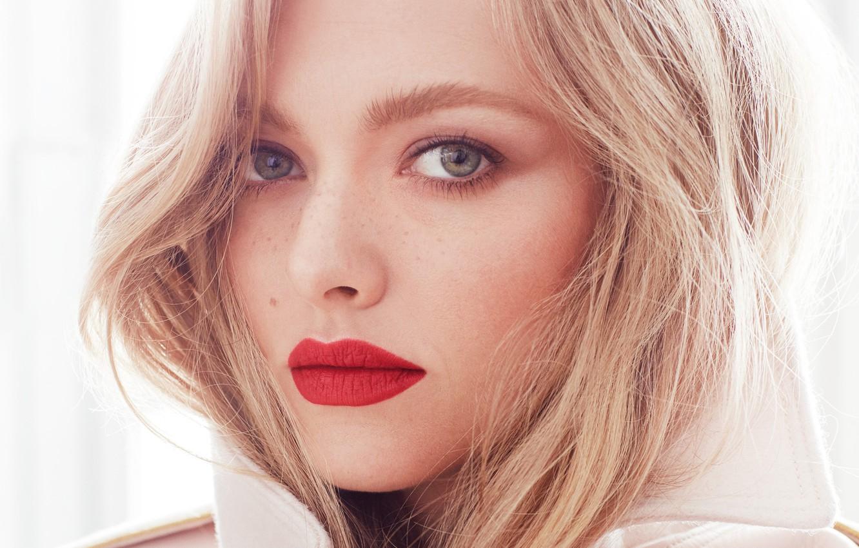 Photo wallpaper face, actress, blonde, Amanda Seyfried