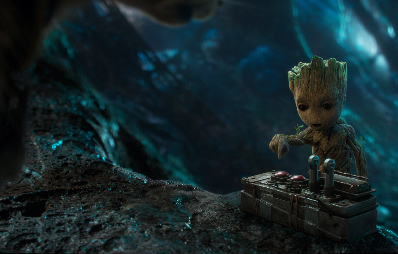 Wallpaper Marvel Marvel Guardians Of The Galaxy Groot