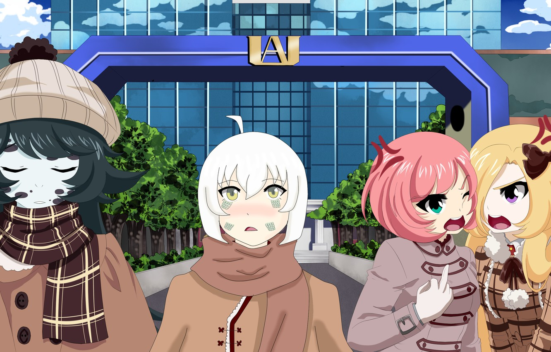 Photo wallpaper anime, manga, japonese, Boku no Hero Academy, My Heroc Academia, by ladytrsharon