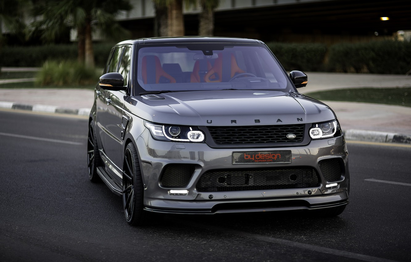 Photo wallpaper Range Rover, Urban, SVR, Adv.1