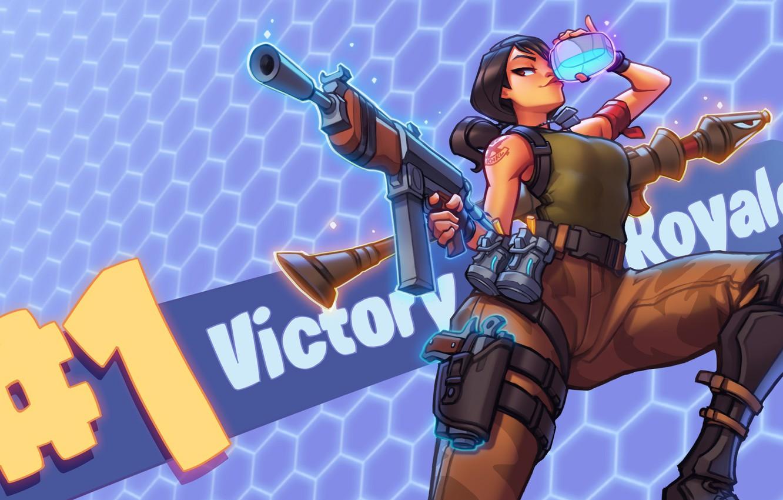 Wallpaper Epic Fortnite Battle Royale Victory Royale Images For Desktop Section Igry Download
