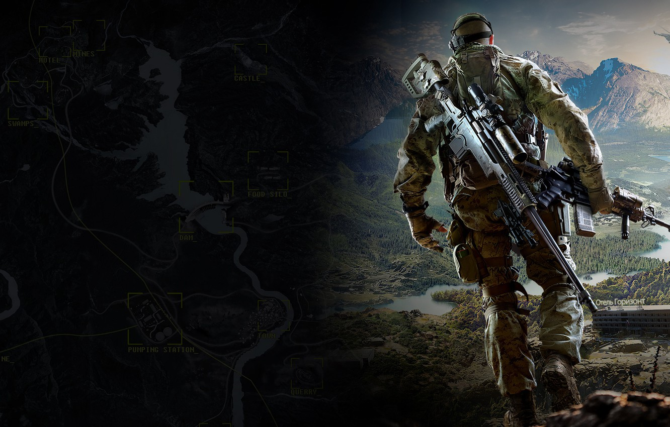 Wallpaper Mountains City Interactive Game Sniper Ghost Warrior
