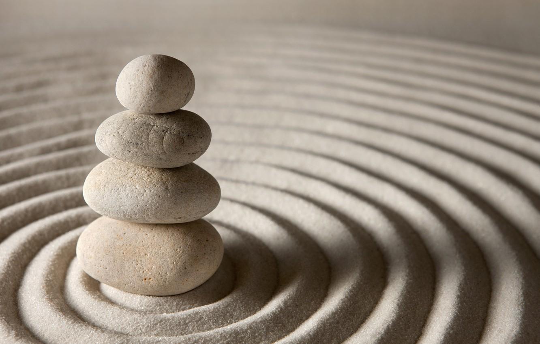 Wallpaper Sand Stones Stone Sand Zen Images For Desktop