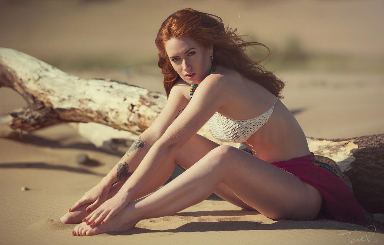 tattoo, red, log, redhead, Jenny O