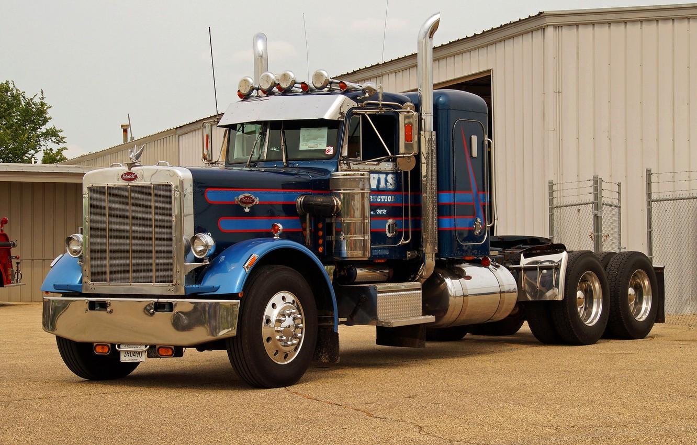 Photo wallpaper Model, Truck, Peterbilt, 359, 1985