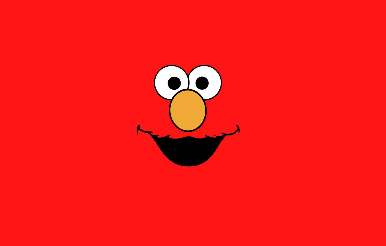 Wallpaper Doll Sesame Street Red Monster Elmo Images For