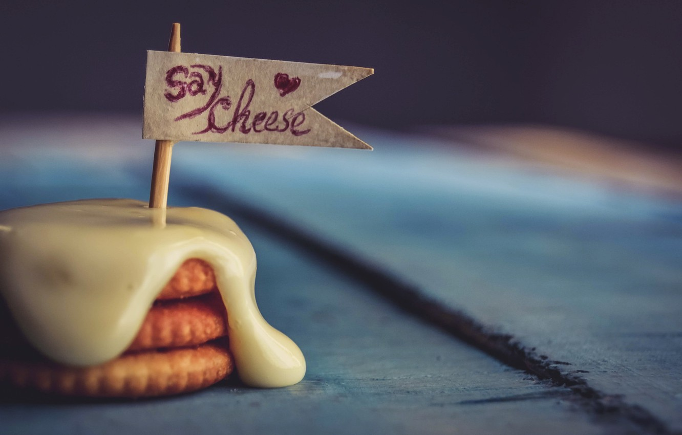 Photo wallpaper background, cheese, cookies