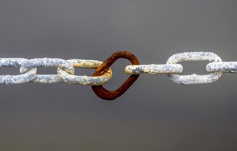Photo wallpaper background, rust, chain