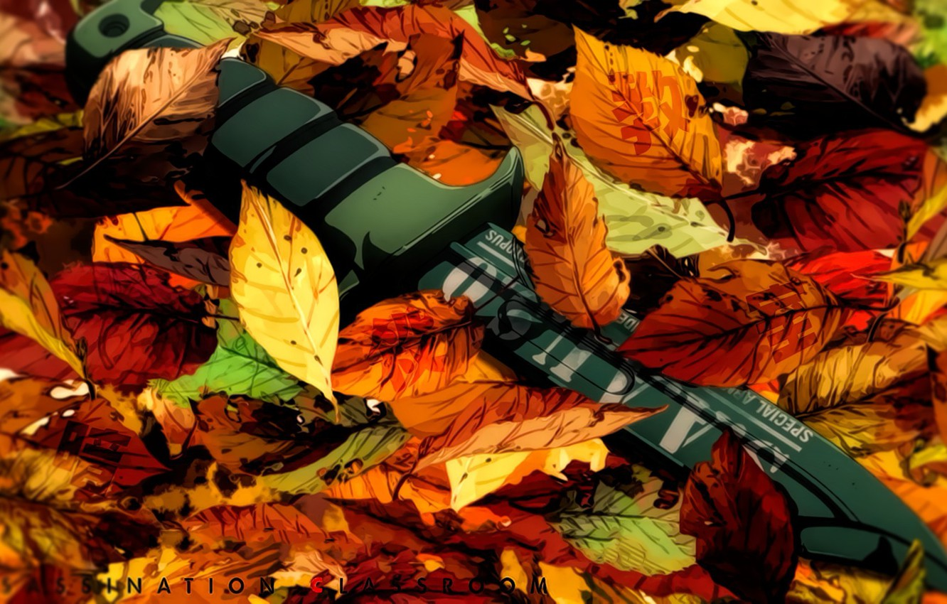 Wallpaper Weapon Blade Leaf Knife Konoha Ansatsu