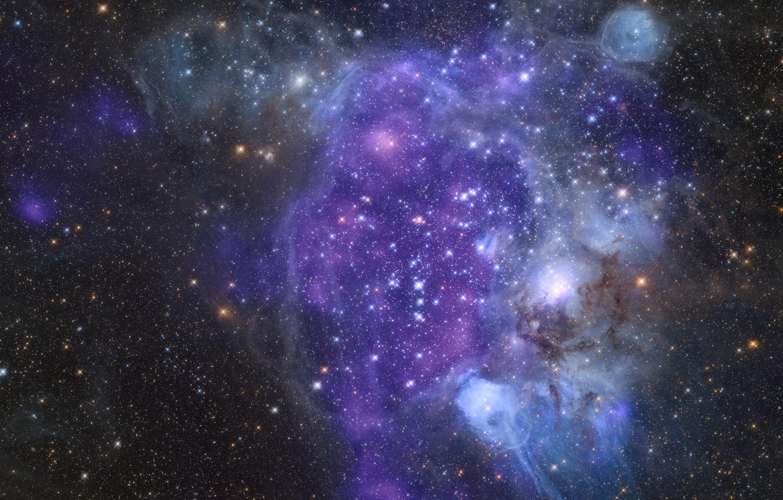 Photo wallpaper oblast, Corpotare, interstellar space