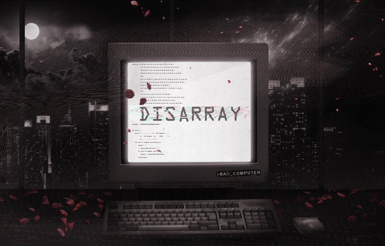 Photo wallpaper Music, Cover, Monstercat, Bad Computer, Disarray