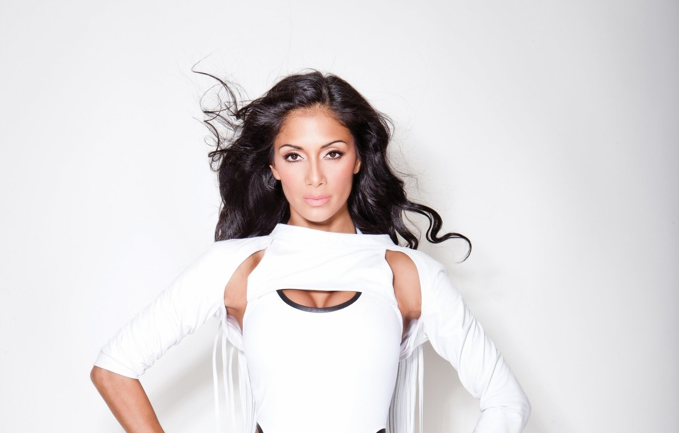 Photo wallpaper brunette, Nicole Scherzinger, singer, celebrity