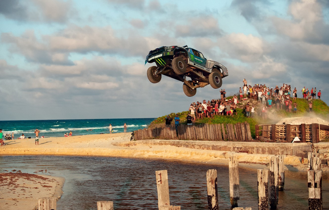 Photo wallpaper photographer, Toyota, Monster Energy, speedhunters, Tundra, Larry Chen, Recoil 4, TOYO TIRES, 8 Days In …