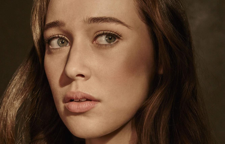 Photo wallpaper portrait, actress, Fear the walking dead, Alycia Debnam-Carey, Fear The Walking Dead