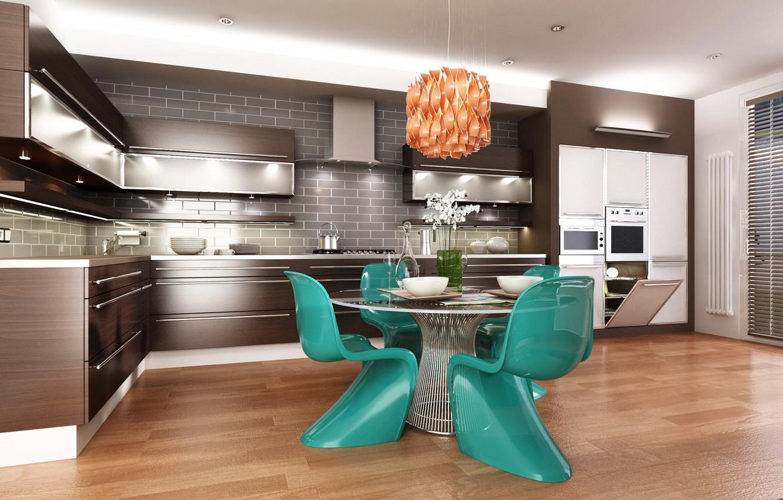 Wallpaper Table Furniture Kitchen Chandelier Design Kitchen