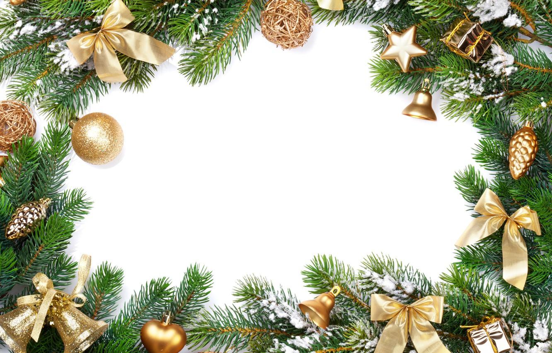 Wallpaper decoration, tree, New Year, Christmas, happy, Christmas