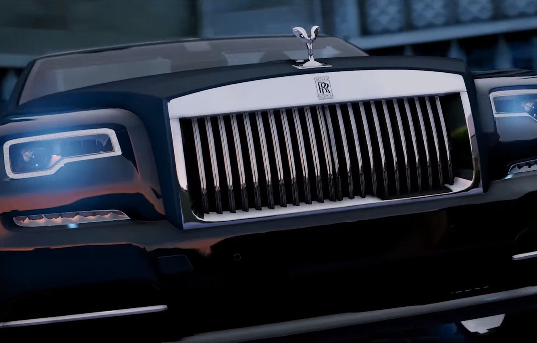 Wallpaper Gta V Gta 5 City Rolls Royce Car Game Full Hd Ultra