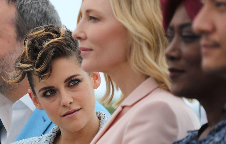 Photo wallpaper look, Kristen Stewart, Kristen Stewart, Cate Blanchett, Cate Blanchett, Cannes Film Festival, Cannes film festival …