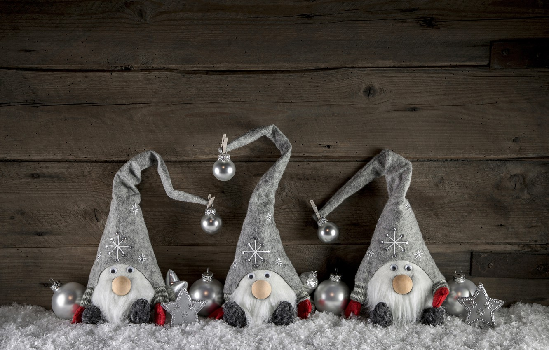 Photo wallpaper snow, decoration, toys, New Year, Christmas, snowmen, happy, Christmas, wood, snow, New Year, Merry Christmas, …
