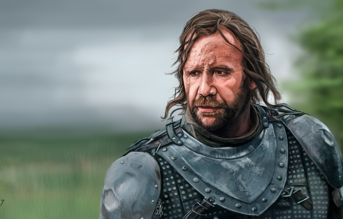 Wallpaper Art Game Of Thrones Game Of Thrones The Hound Sandor