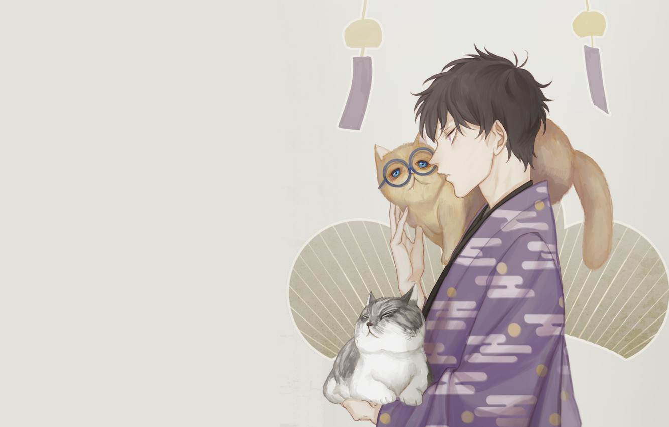 Wallpaper Cats Anime Art Guy Osomatsu San Images For