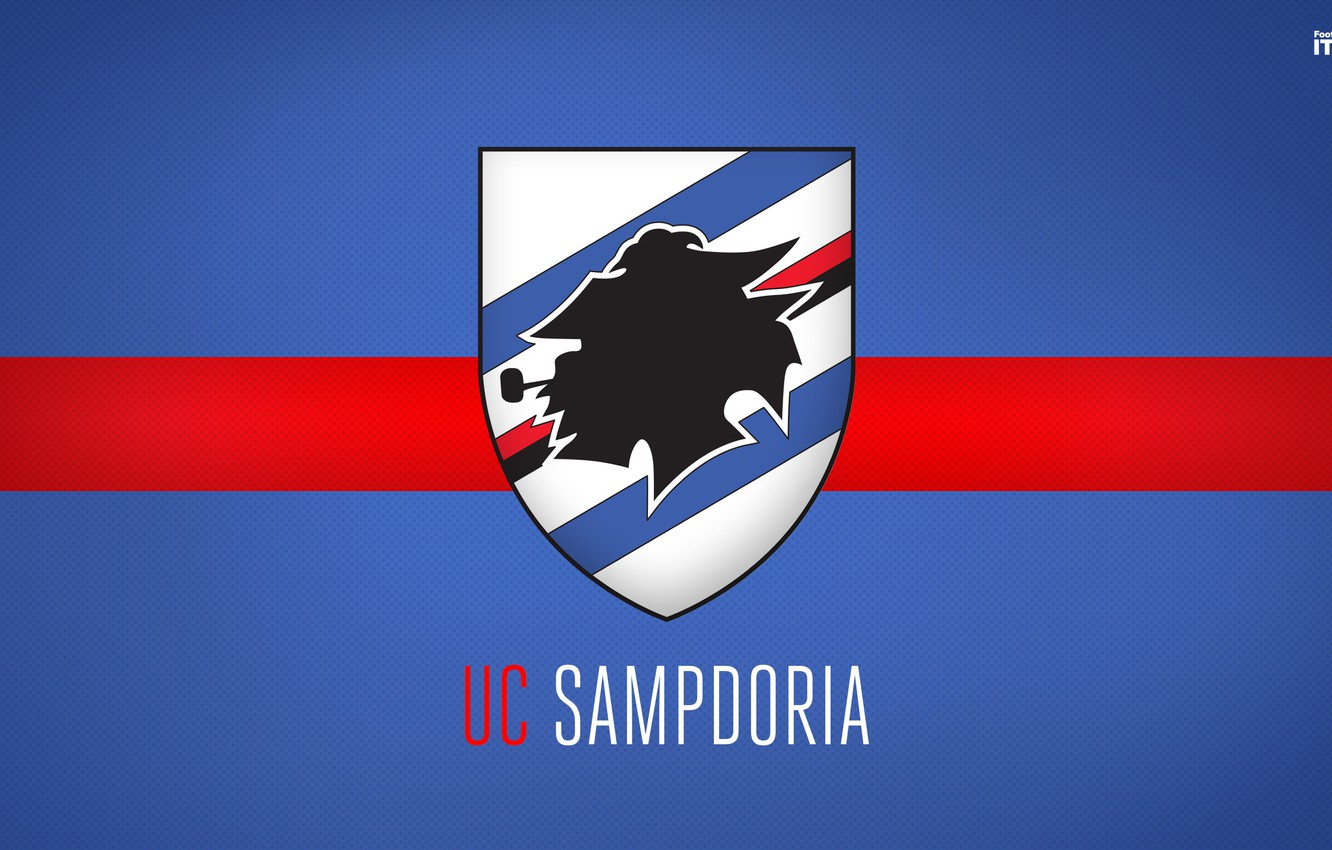 Sampdoria Football Club Logo Wallpaper Wallpapers Themes