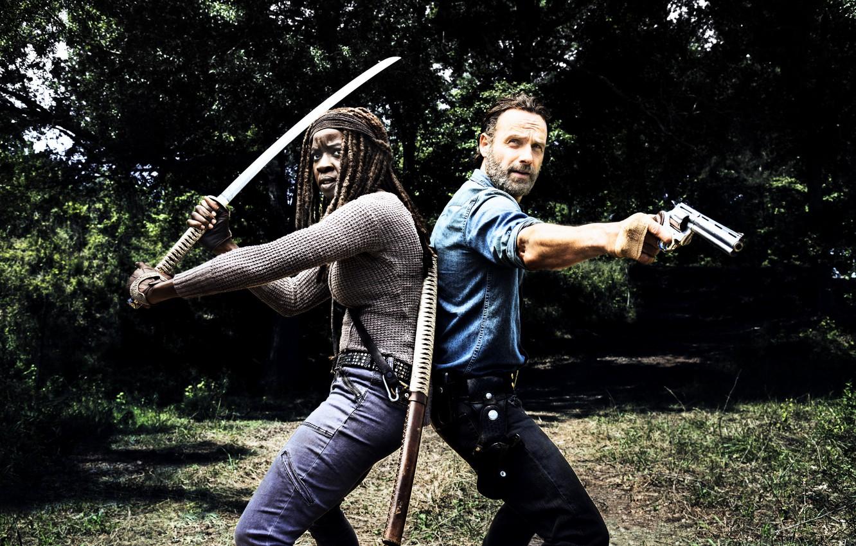 Wallpaper The Walking Dead Rick Grimes Michonne Season 8 Images