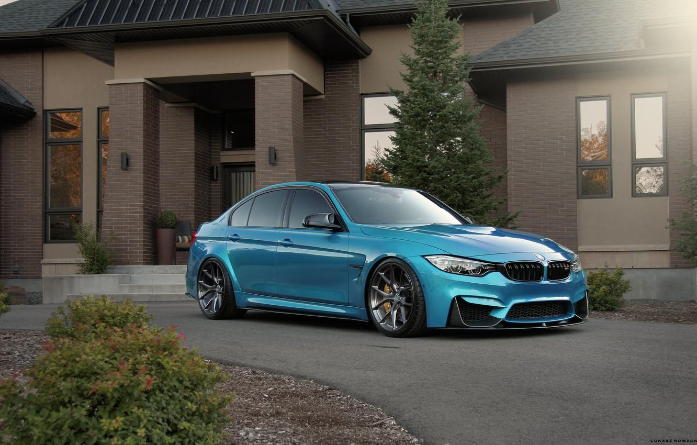 Photo wallpaper BMW, Windows, Blue, F80, Sight