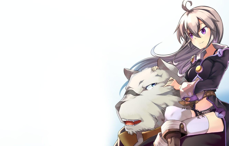 Photo wallpaper tiger, anime, friends, strong, bishojo, mercenary, novel, light novel, Albus, Zero Kara Hajimeru Mahou No …