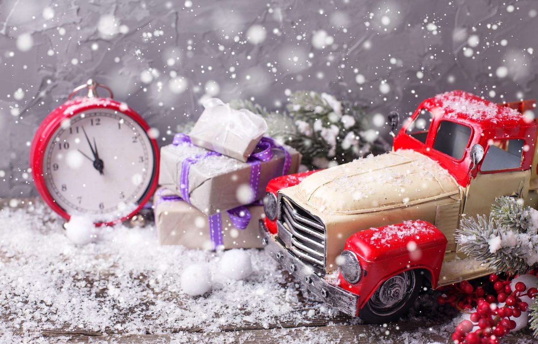 Photo wallpaper snow, decoration, tree, New Year, Christmas, happy, Christmas, wood, New Year, Merry Christmas, Xmas, decoration, …