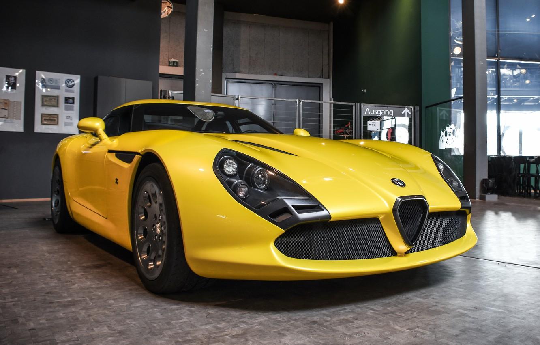 Photo wallpaper Alfa Romeo, Coupe, TZ3, Zagato, Road