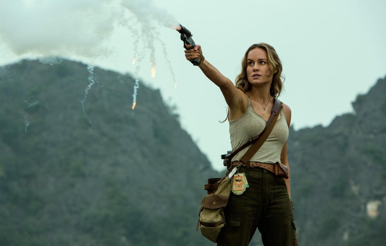 Photo wallpaper Brie Larson, Brie Larson, Kong: Skull Island, Kong: skull Island